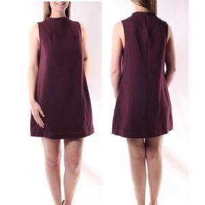 Bar-III Large Sleeveless Jewel Neck Shift Dress